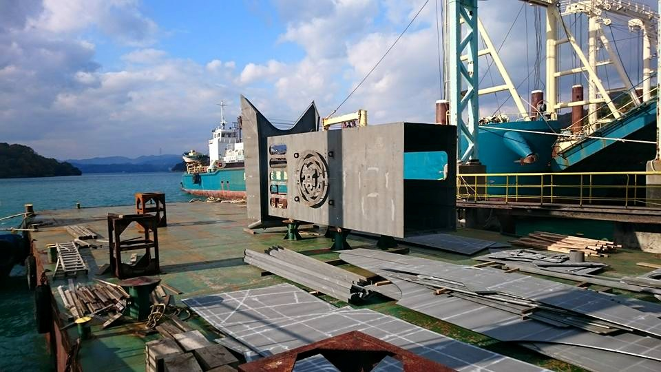 499G/T船舶用煙突
